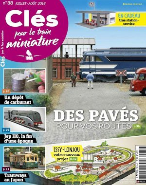 Clés pour le train miniature - juillet/août 2018