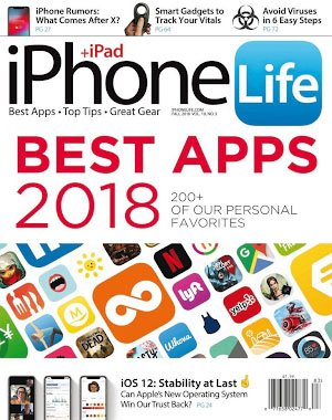 iPhone Life Magazine - July 01, 2018