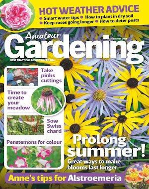 Amateur Gardening - 14 August 2018