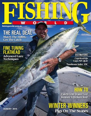 Fishing World - August 2018