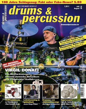 Drums & Percussion - Juli-August 2018