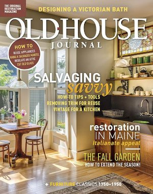 Old House Journal - September 2018