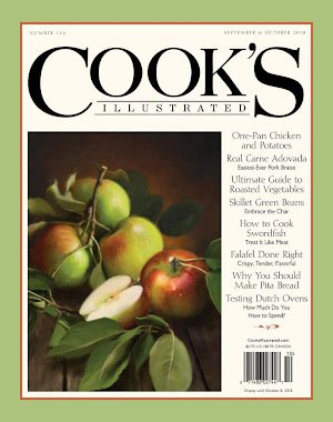 Cook's Illustrated - September 01, 2018
