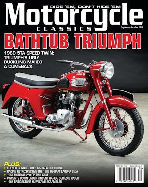 Motorcycle Classics - September/October 2018