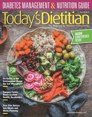 Today's Dietitian - August 2018