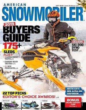 American Snowmobiler - October 01, 2018