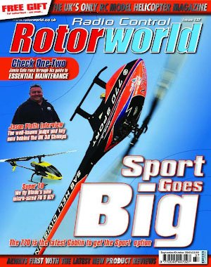 Radio Control Rotor World – September 2018