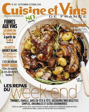 Cuisine et Vins de France - septembre 2018