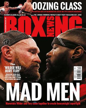 Boxing News – August 23, 2018