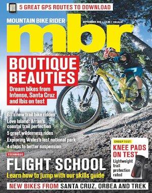 Mountain Bike Rider - September 2018