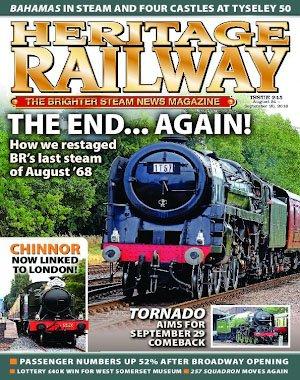 Heritage Railway – August 24, 2018