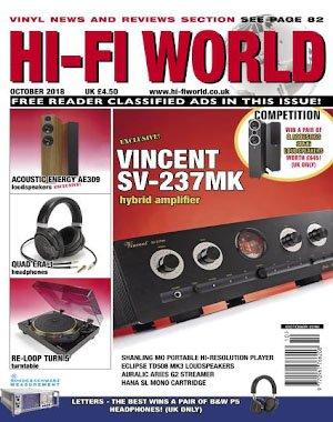 Hi-Fi World - October 2018