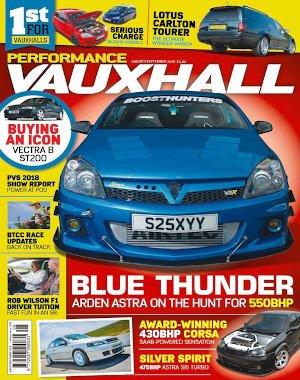 Performance Vauxhall - August 2018