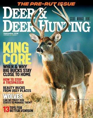 Deer & Deer Hunting - September 2018