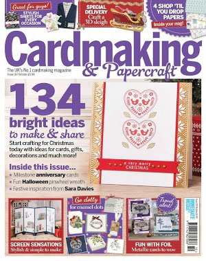 Cardmaking & Papercraft - October 2018