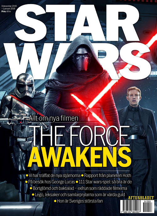 Aftonbladet - 3 December 2015 Star Wars The Force Awakens