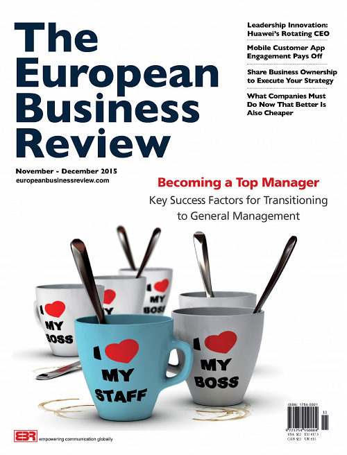 The European Business Review - November/December 2015