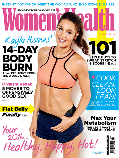 Women's Health UK - January/February 2016