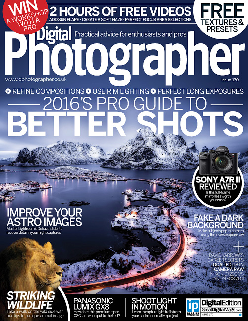 Digital Photographer - Issue 170, 2016