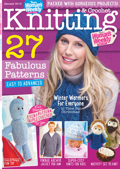 Knitting & Crochet from Woman's Weekly - January 2016