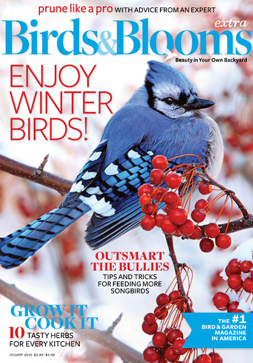 Birds & Blooms Extra - January 2016