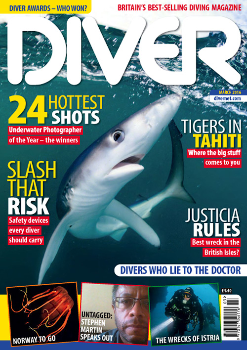 Diver UK - March 2016