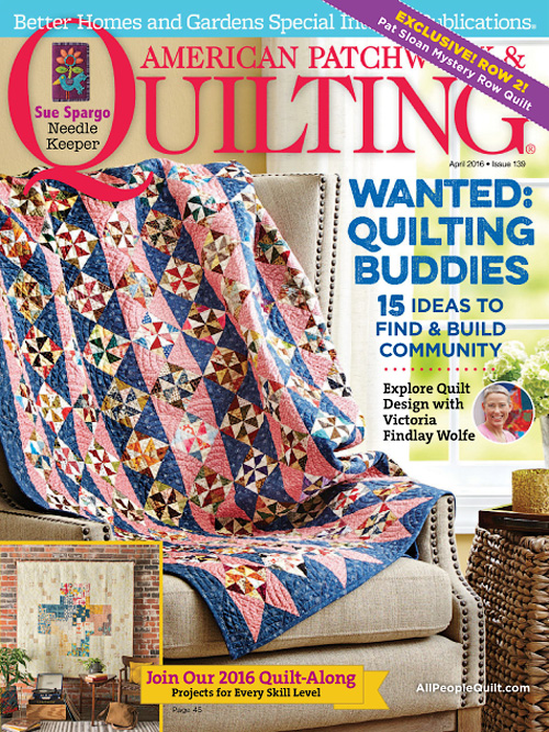 American Patchwork & Quilting - April 2016