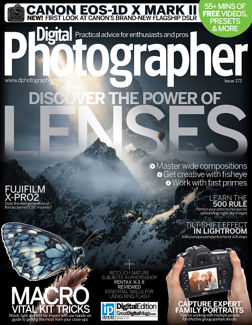 Digital Photographer UK - Issue 172, 2016