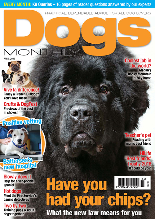 Dogs Monthly - April 2016