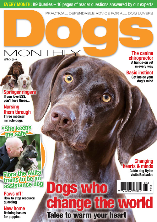 Dogs Monthly - March 2016