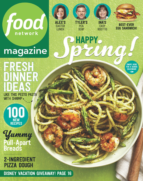 Food Network Magazine - April 2016