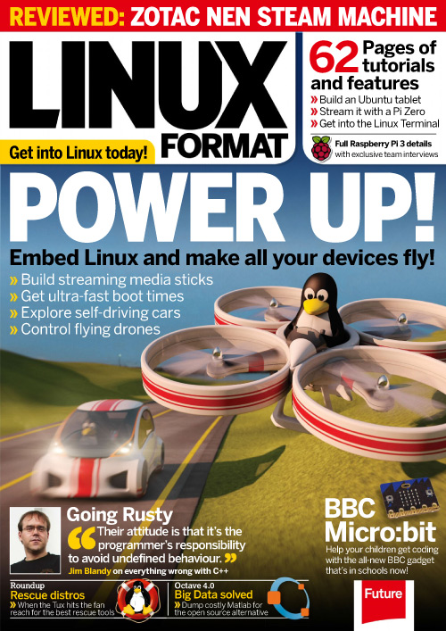 Linux Format UK - April 2016