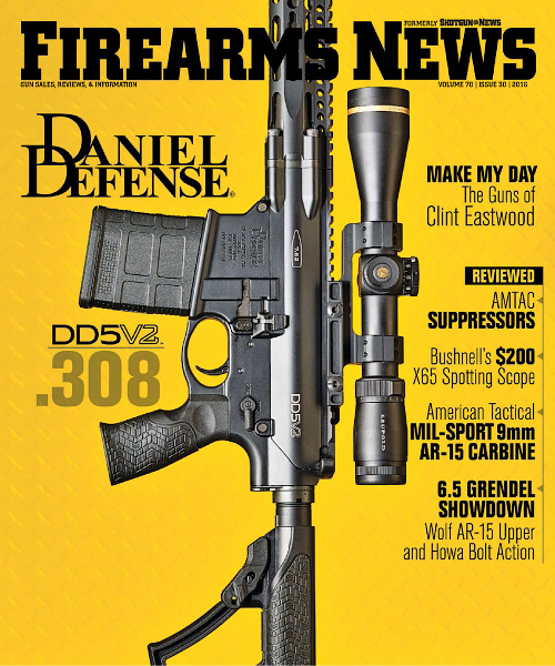 Firearms News - Volume 70 Issue 30, 2016