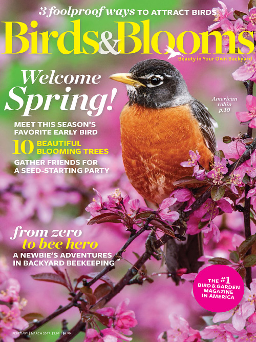 Birds & Blooms - February/March 2017
