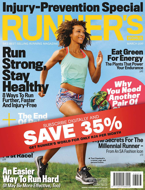Runner's World South Africa - March 2017