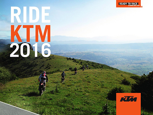 KTM Ride - Adventure Tours - 2016