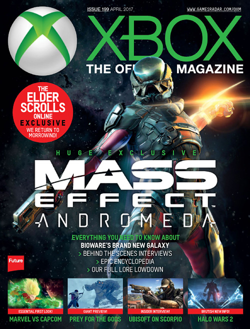 Official Xbox Magazine USA - April 2017