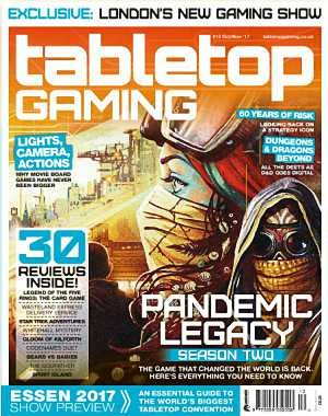 Tabletop Gaming - October-November 2017