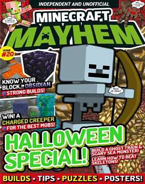 Minecraft Mayhem - Issue 20 2017