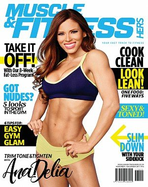 Muscleand Fitness Hers South Africa - November/December 2017