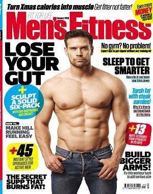 Men's Fitness UK - January 2018