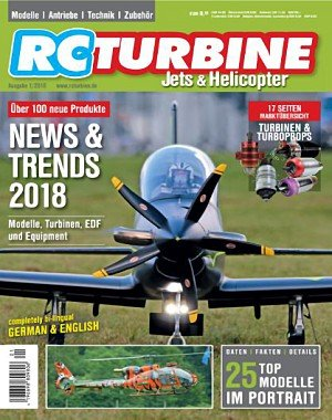 RC Turbine Jets and Helicopter - Januar 2018