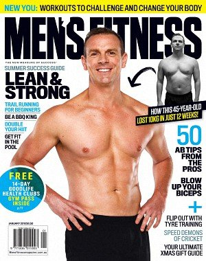 Australian Men's Fitness - January 2018