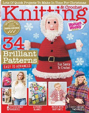 Knitting and Crochet from Woman's Weekly - January 2018
