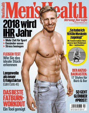 Men's Health Germany - Januar 2018