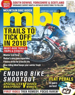 Mountain Bike Rider - January 2018
