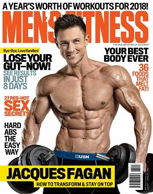 Men's Fitness South Africa - January 2018