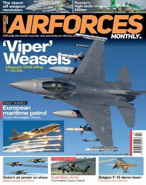 Airforces Monthly - February 2018
