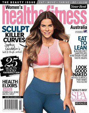 Women's Health and Fitness Australia - March 2018