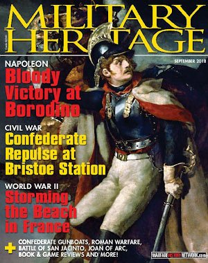 Military Heritage – August 2018